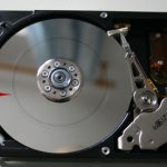 hard drive data recover - scored platters